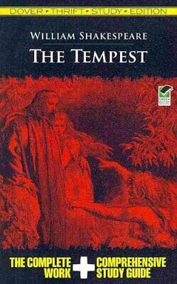 Dover Thrift Study Edition: The Tempest by William Shakespeare (2011, Paperback)