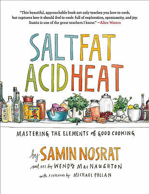 Salt, Fat, Acid, Heat 2017 by Samin Nosrat  E-B00k [pdf + ePub]