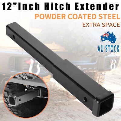 """Heavy Duty 17"""" Inch Hitch Extender Extension Tow Bar Trailer 4WD Car 2"""" Receiver"""