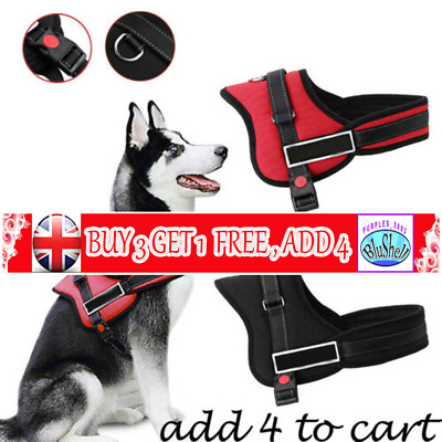 No-pull Dog Harness Outdoor Adventure Pet Vest Padded Handle-Small-Extra Large P