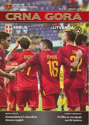 MONTENEGRO v Serbia (UEFA Nations League) 2018 also covers away game v Lithuania