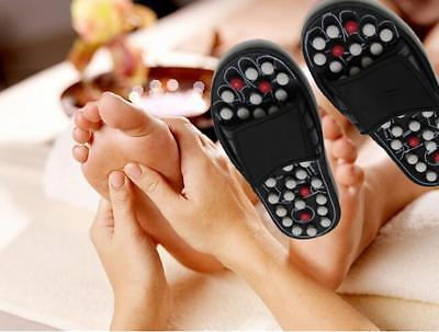 Women/Men Massage Slippers Sandal Feet Reflexology Acupressure Foot Massager DS
