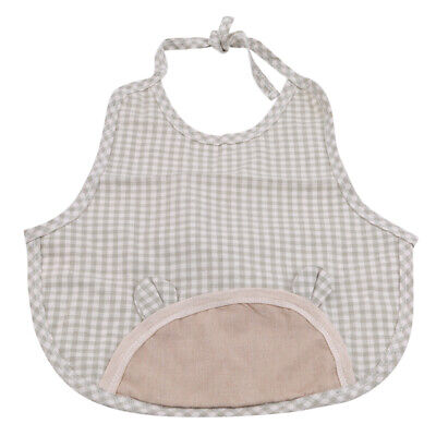 Baby Waterproof Bib Apron Sleeveless Washable Feeding Smock Bibs For Infant Z