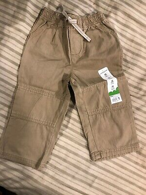 2806e09d6 OLD NAVY BLUE Cargo Pants Lined 12-18 Months Baby Toddler Boys Girls ...