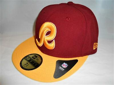 newest d7a85 26ab8 New Licensed Washington Redskins New Era 59Fifty Fitted Hat Size 7 3 8  B86