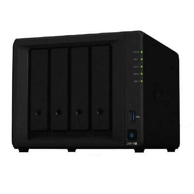 NEW DS918+ 29DS918+ SYNOLOGY DISKSTATION DS918+ 4-BAY 3.5 INCH DISKLESS 2XG.d.