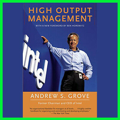 High Output Management by Andrew S Grove (E-book){PDF}⚡Fast Delivery(10s)⚡