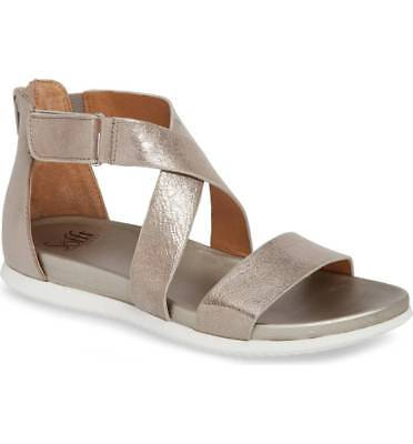 557b597d5d Sofft Fiora Sandal, Anthracite Leather, Back Zipper, Women Size 7, $89