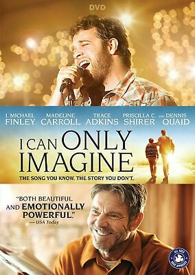 I CAN ONLY IMAGINE (Slipcover + DVD, 2018) >NEW<
