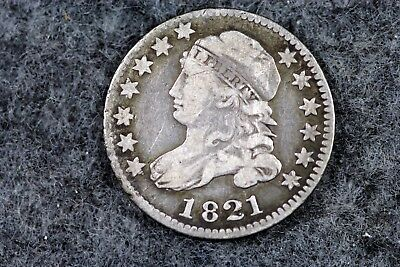 Estate Find 1821 - Capped Bust Dime!!   #H3460