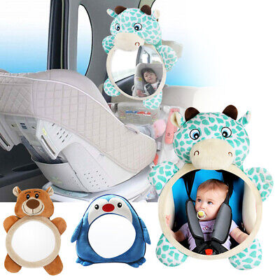 Adjustable Wide View Rear Safety Seat Car Back Interior Baby Mirror Headrest New
