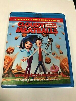 Cloudy With a Chance of Meatballs (Blu-ray/DVD, 2010, 2-Disc Set)