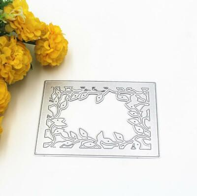 Creative Lace Frame Craft DIY Cutting Dies Stencil Scrapbooking Card Embossing