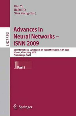 Lecture Notes in Computer Science: Advances in Neural Networks - ISNN 2009 :...