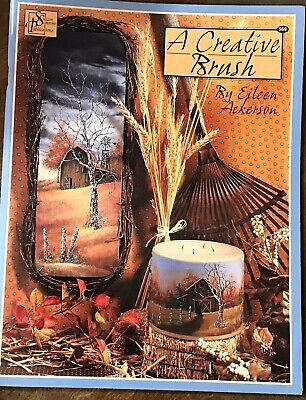*NEW*A Creative Brush by Eileen Aclerson 2004 ACRYLIC SCHEEWE Publishing