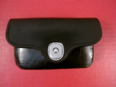 post-WWII US Army MP Black Leather First Aid Pouch - Dated 1951 - NICE #2