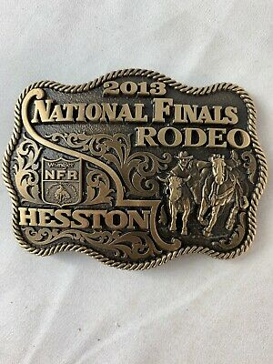 Hesston / Wrangler National Finals Rodeo Buckle - 2013 New