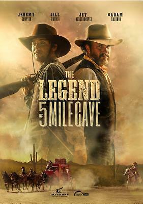 Legend of 5 Mile Cave - DVD Region 1 Free Shipping!