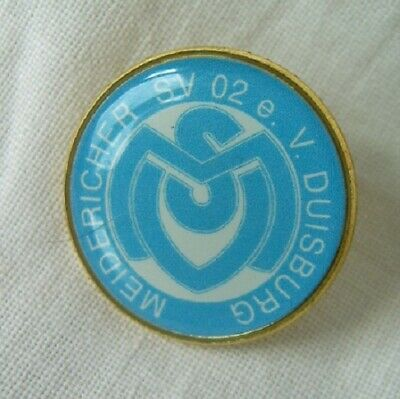 pin button badge Football Fußball-Club FC MSV Duisburg Germany