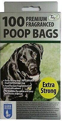 New 100 Premium Fragranced disposible Poop Bags New & Improved Extra Strong