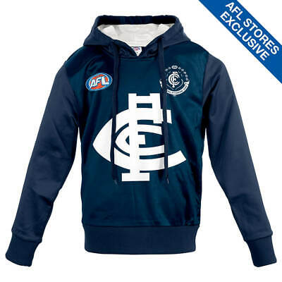 AFL Carlton Youth Long-Sleeved Guernsey Hoody.