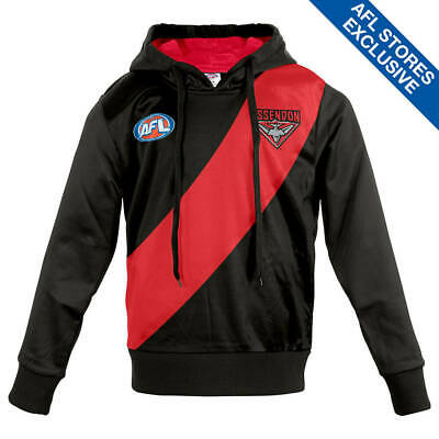 AFL Essendon Youth Long-Sleeved Guernsey Hoody.