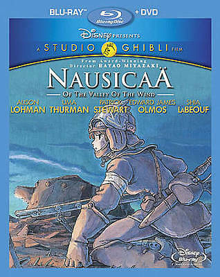 Nausicaa of the Valley of the Wind (Blu-ray/DVD, 2011, 2-Disc Set) NEW
