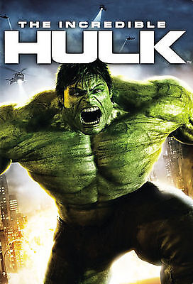 The Incredible Hulk (DVD, 2008, Widescreen) DISC IS MINT