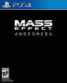 Mass Effect: Andromeda (Sony PlayStation 4, 2017) BRAND NEW SEALED