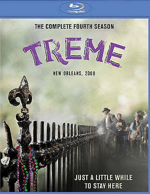 Treme: The Complete Fourth Season (Blu-ray Disc, 2014, 2-Disc Set) BRAND NEW