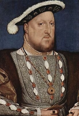 """perfect oil painting handpainted on canvas""""Henry VIII, King of England""""@N10506"""
