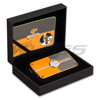 Gift COHIBA Classic 3 TORCH JET FLAME CIGAR CIGARETTE Metal LIGHTER with PUNCH