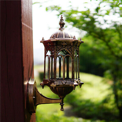 Vintage Wall Mount Sconce Lamp Lantern Porch Light Fixture for Outdoor Garden US