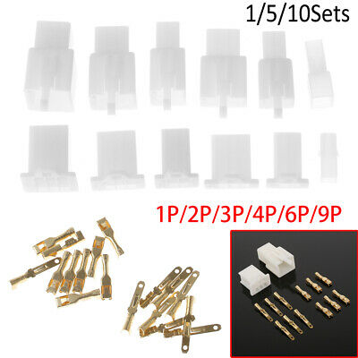 2.8mm Electrical wire Connector Male Female Motorcycle terminal plug Kits