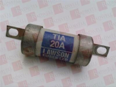 Lawson Fuses Tia20 / Tia20 (Used Tested Cleaned)
