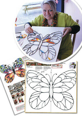 Quilling Template Gigant Schmetterling Art Quilling