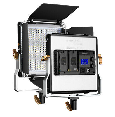 480 LED Panel Dimmanable Bi-color LED Video Light with LCD Screen for Studio