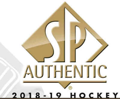 18/19 2018 SP AUTHENTIC HOCKEY BASE CARDS (#1-100) U-Pick From List