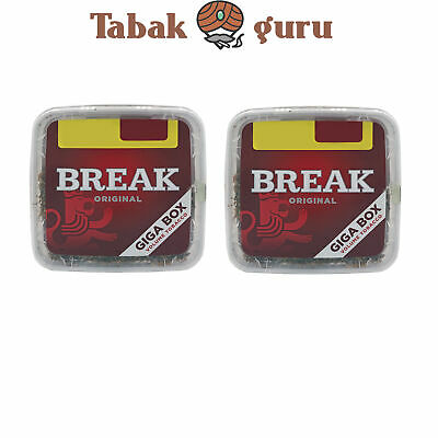 2x Break Original Volumentabak Giga Box 300 g