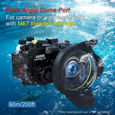 Sea frogs Wide Angle Wet Correctional Dome Port Lens for Underwater Housings