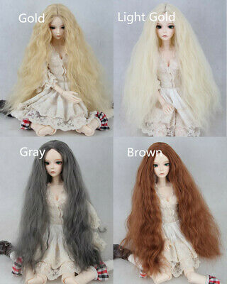 1//3 BJD Doll Hair Wig 8-9 inch 21.5-23.5cm Long MSD SD Super Dollfie Purple