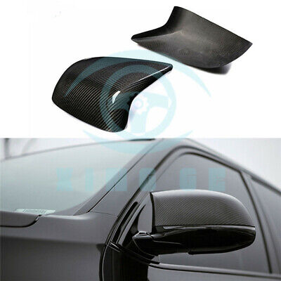 * Real Carbon Fiber Side Mirror Cover For BMW F85 X5M F86 X6M Add On 15-17