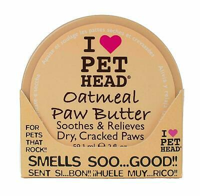 Pet Oatmeal Paw Butter Dry Cracked Noses Paws Puppy Dogs Soother Balm Cream