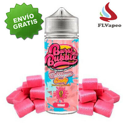 Bubble Bubblegum Candy 100 ml - LIquido para Vapear - Vapeo - Vaper - Eliquid