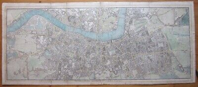 1804 Phillips A Plan of London