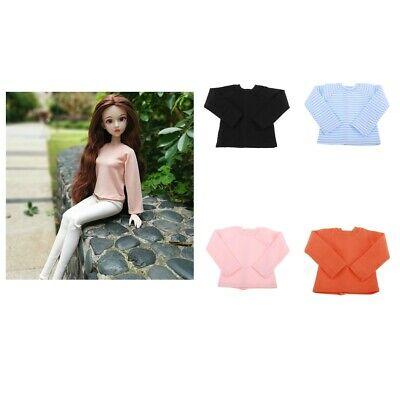 Fashion Long Sleeve T-shirt Top Outfits for 1/4 BJD XinYi Night Lolita Doll