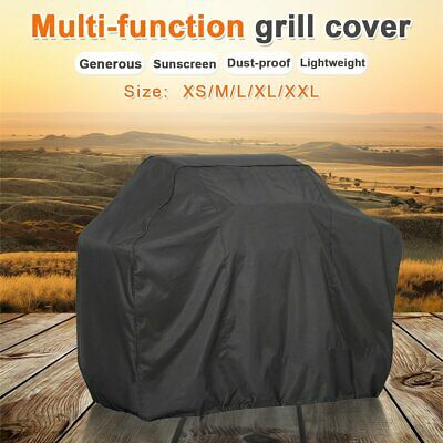 BBQ Grill Cover Heavy Waterproof Garden Patio Outdoor Barbecue XS/M/L/XL/XXL UK