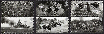 2019 D-DAY 75th ANNIVERSARY - Mint Stamp Set of Six