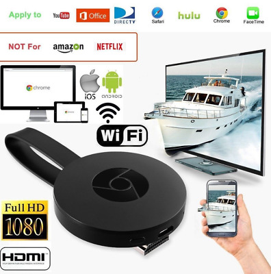 Chromecast Google Miracast TV HDMI Home Netflix Android