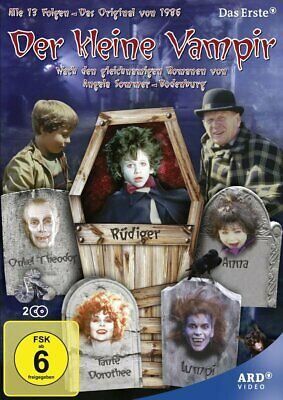 dvd The Little Vampire TV complete series ( 2 Disc) New sealed R2, english audio